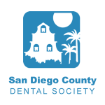 SAN DIEGO COUNTY DENTAL SOCIETY SQUARE LOGO TRANSPARENT PNG CASSIDY SMILES OCEANSIDE